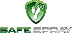 safe spray logo