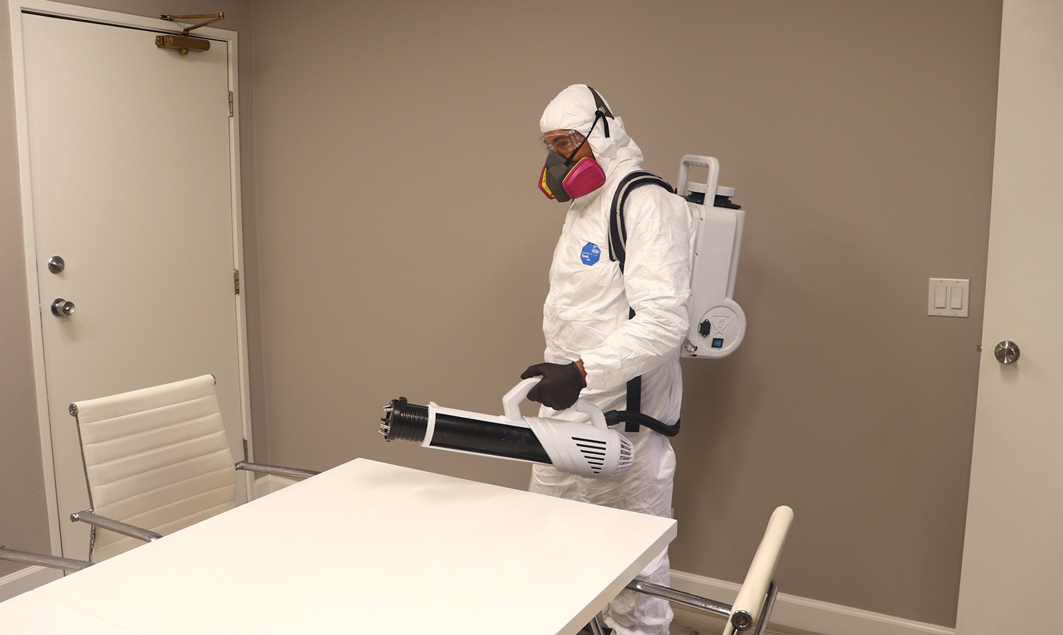 Disinfecting the Safe Spray Way